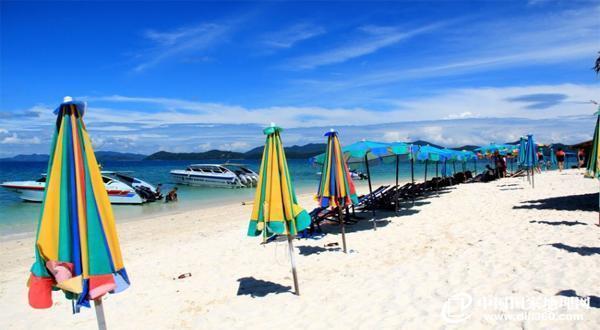 蓝钻岛沙滩