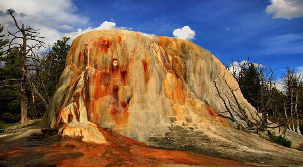 黄石国家公园自然特色图