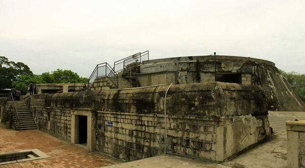 胡里山炮台遗址