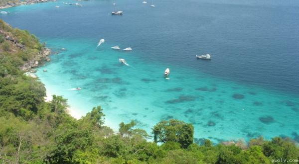 斯米兰群岛景观