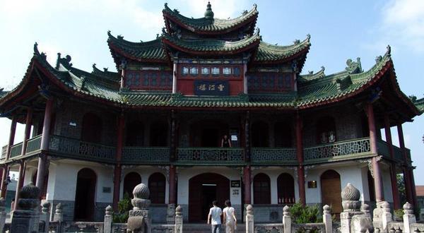 汉中博物馆景观
