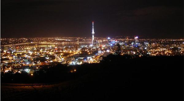 奥克兰夜景