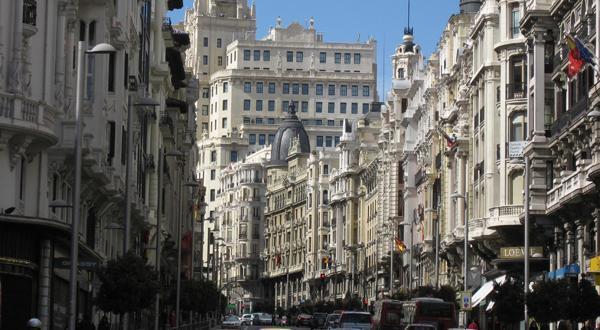 马德里街道