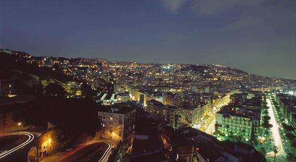 那不勒斯夜景