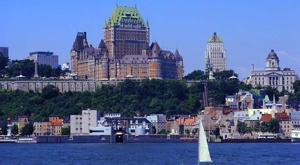 魁北克古城景色