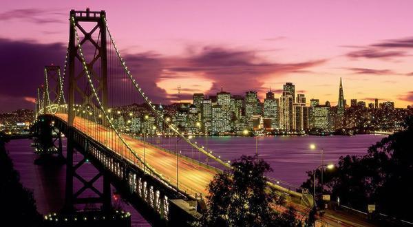 美国东西海岸+17英里+旧金山12日游
