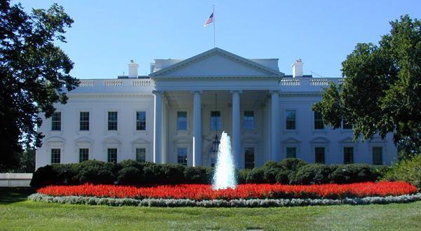 华盛顿白宫景观