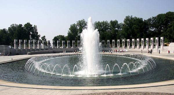 华盛顿二战纪念广场