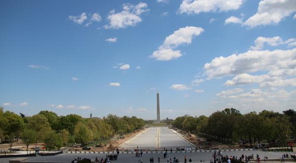 远观华盛顿纪念碑