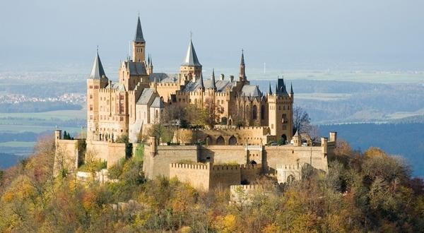 巴登巴登城堡景色