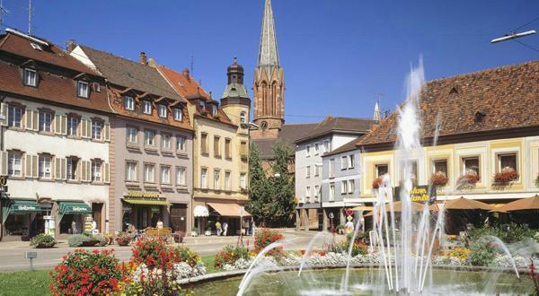 巴登城市景色