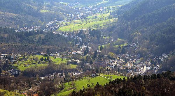 巴登自然景色