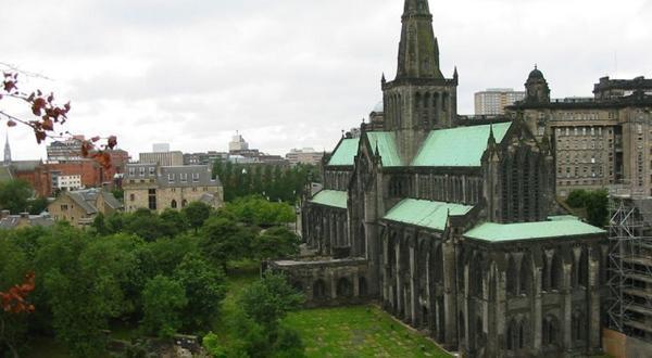 格拉斯哥大教堂风景