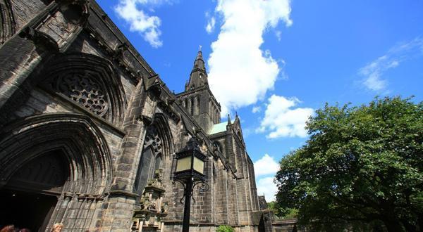 格拉斯哥大教堂一景