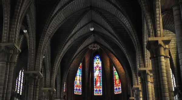 芽庄大教堂景观