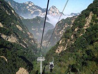 华山西上北下一日游   赠送:导游陪上西峰、、