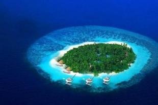 【马尔代夫美露丽芙岛5晚7日自助游】西安直飞,水飞上岛,室内装饰以传统马尔代夫风格为主调。