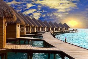 【马尔代夫阿雅达岛5晚7天自助游】西安直飞,A类潜水,五星豪华岛屿