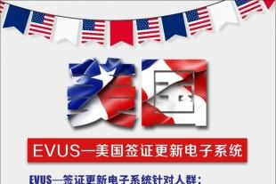 EVUS—美国签证电子更新