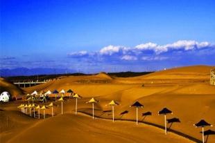 金沙莲语:希拉穆仁草原、响沙湾-莲沙度假岛、呼和浩特双飞5日