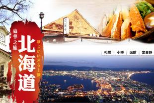 【北海道+本州】 北國冬日全景8日游(東航名名)
