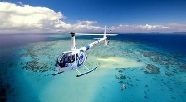 大堡礁观景直升机