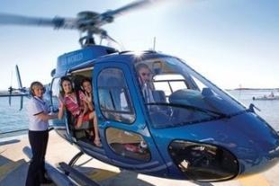 海豚岛直升飞机