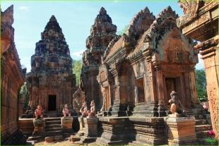 臻享柬埔寨雙飛5晚7天
