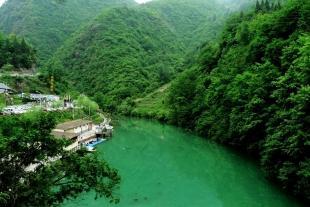 中坝大峡谷•后柳水乡•石泉老街•汉江三峡二日游