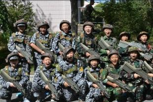 快乐少年军旅12天特战营