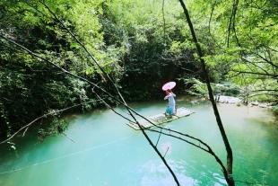 石泉雁山瀑布、后柳水乡一日游