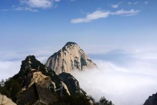 陕西西安旅游华山一日游纯玩跟团游华山