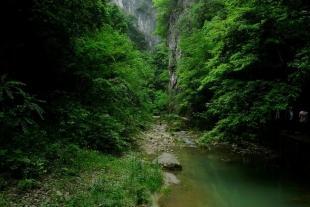 中坝大峡谷、后柳水乡、汉江三峡、饶峰驿站、作坊小镇二日游